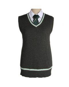 Harry Potter Slytherin V Neck Sweater Uniform