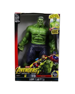 Hulk Action Figure Model With LED Light And Sound