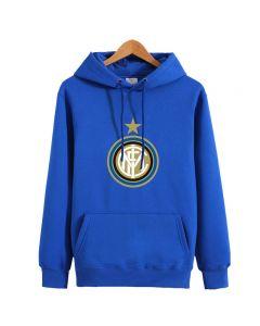 Inter Milan Fleece Hoodie Pullover Sweatshirt