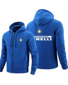 Inter Milan Full zipper Hoodie Fleece Jackets