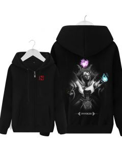 Invoker Dark Hooded Casual Sweatshirt