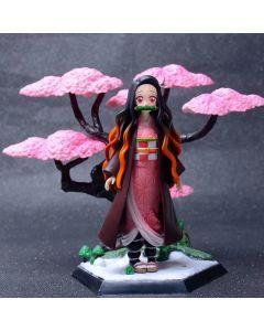Demon Slayer Kamado Nezuko Cherry blossoms Action Figure