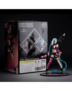 League of Legend Jinx Action Figure Statue