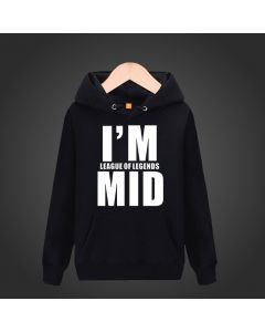 League of Legends I'm MID Pullover Hoodie