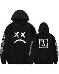 Lil Peep Crying Face Pullover Hoodie Sweatshirt