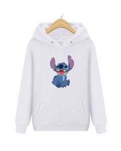 Lilo & Stitch Pullover Hoody Fleece Sweatshirt