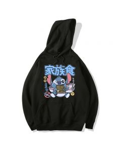 Lilo & Stitch Fleece Hoodie Pullover Sweatshirt