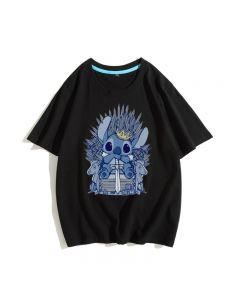 Lilo & Stitch T-shirts Cotton Tee Top