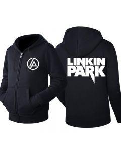 Linkin Park Men's Fleece Zip Hooded Sweatshirt Jackets