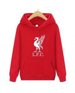 Liverpool FC Pullover Hoody Fleece Sweatshirt