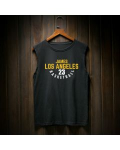 Los Angeles Lakers LeBron James Number 23 Tank Top
