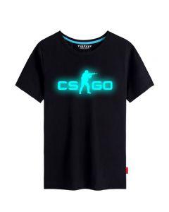 CS:GO Luminous T-shirts Short Sleeve Tee Top