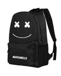 Marshmello Canvas Backpack School Bag Travel Bag