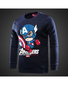 Marvel Captain America Hoodie Sweatshirt No zipper