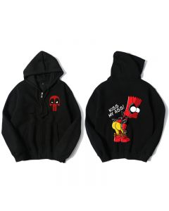Marvel Deadpool Hooded Sweatshirt Hoodie