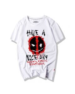 Marvel  Deadpool Icon Have A Nice Day T-Shirt Tee Top