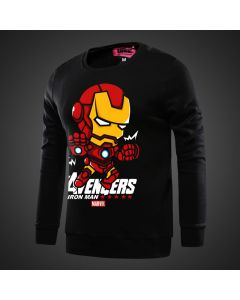 Marvel Iron Man Hoodie Sweatshirt No zipper