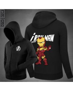 Marvel Iron Man Pullover Hoodie Sweatshirt