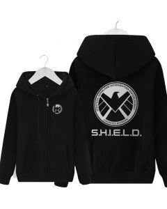 Marvel's Agents of S.H.I.E.L.D. Full-Zip Hoodie Fleece Jackets