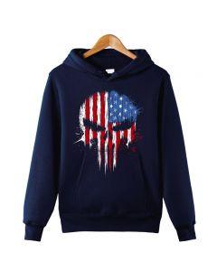 Marvel's The Punisher Pullover Hoodie Hooded Sweatshirt