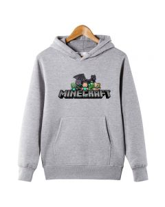 Minecraft Boys Creeper Hoodie Pullover Sweatshirts