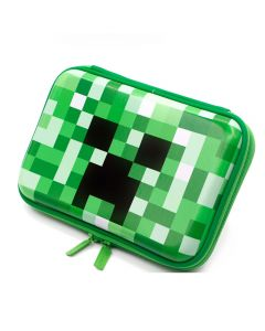 Minecraft Creeper Pencil Case Canvas School Supplies