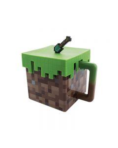 Minecraft Creeper Plastic Mug Tea Cup