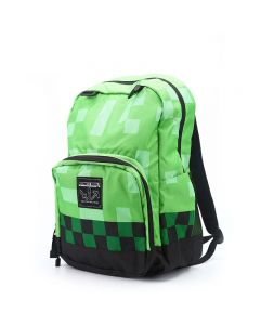 Minecraft Creeper School Bag Backpack