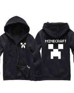 Minecraft Creeper Zip-up Hoodie