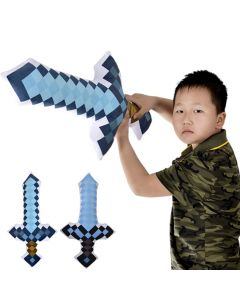 Minecraft Diamond Sword Plush Stuffed Toys