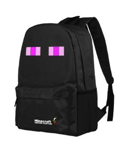 Minecraft Enderman Canvas Backpack School Bag Student Bag