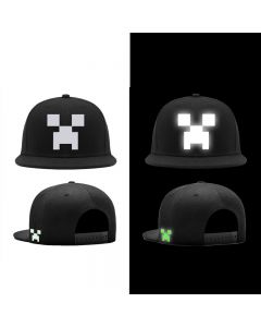 Minecraft Luminous Snapback Caps Baseball Cap Hat