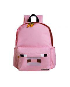 Minecraft Pig School Bag Student Bag