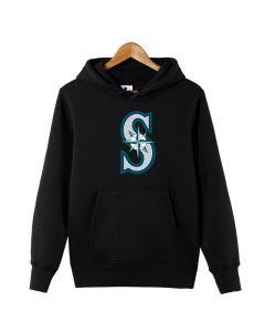 MLB Seattle Mariners Pullover Hoodie Hooded Sweatshirt