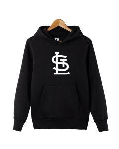 MLB St. Louis Cardinals Logo Printed Hoodie Sweatshirt
