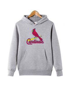MLB St. Louis Cardinals Pullover Hoodie Fleece Sweatshirt