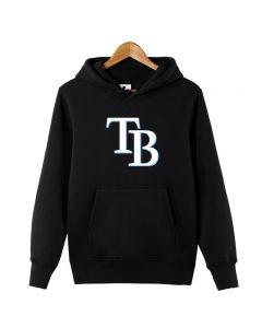 MLB Tampa Bay Rays Pullover Hoodie Fleece Sweatshirt
