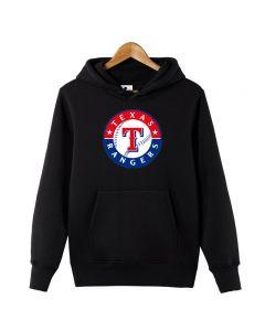 MLB Texas Rangers Pullover Hoodie Fleece Sweatshirt