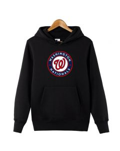 MLB Washington Nationals Pullover Hoodie Fleece Sweatshirt