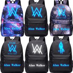 Music DJ Comedy Alan Walker Faded Backpack High Quality School Bag