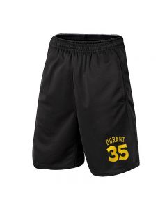 NBA Kevin Durant Athletic Shorts Basketball Jogger with Pockets