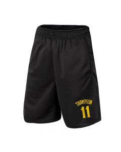 NBA Klay Thompson Athletic Shorts Basketball Jogger with Pockets