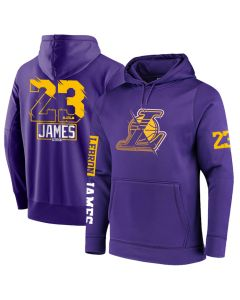 NBA Los Angeles Lakers LeBron James Pullover Hoodie