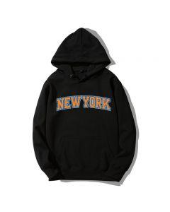 NBA New York Printed Pullover Hoodie