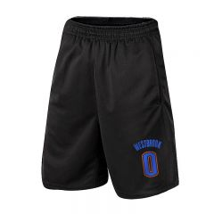 NBA Russell Westbrook Athletic Shorts Basketball Jogger with Pockets