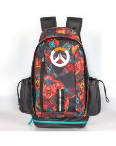 Overwatch Logo Backpack USB Charger Bag
