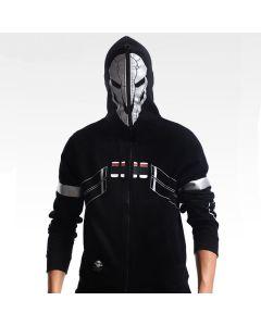 Overwatch Reaper Design Premium Cosplay Hoodie
