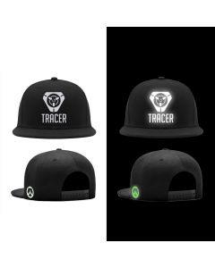 Overwatch Tracer Luminous Snapback Caps Baseball Cap Hat