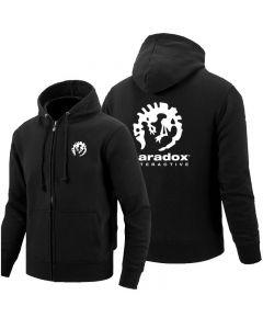 Paradox Interactive Full-Zipper Hoodie Pullover Sweatshirt