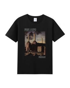 Pink Floyd Short Sleeve T-shirt Black Tee